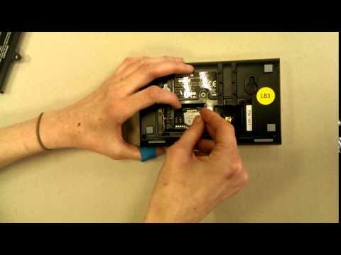 Einsetzen der SIM Karte in Protect 9xxx