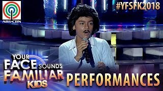 Your Face Sounds Familiar Kids 2018: Noel Comia Jr. as Rico J. Puno | Sorry Na Pwede Ba