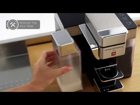 Illy Y5 Milk, Espresso and Coffee: Recommended Cleaning Methods