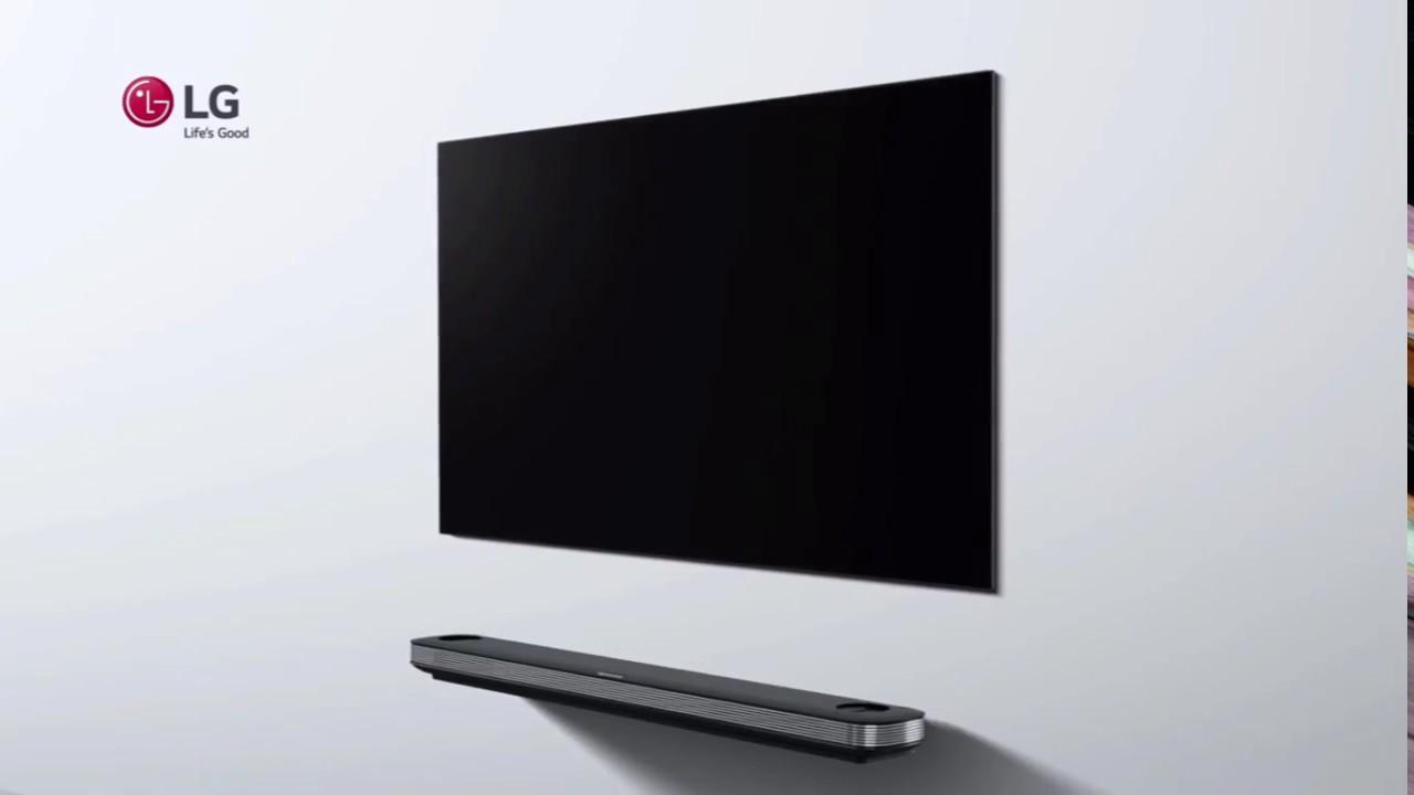 lg tv oled. lg signature oled tv w / anuncios publicidad advertisement lg tv