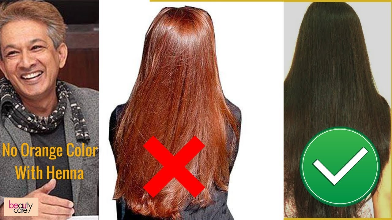 jawed habib henna hair color tips in hindi | add this in your henna mix for  no orange color hair