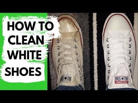 How to Clean White Shoes - Method that Works