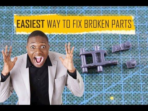 Gundam Tutorial: Easiest Way to Fix Broken Parts