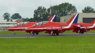 Red Arrows - Royal Air Force Demonstration Team - RIAT 2012 - Nuno