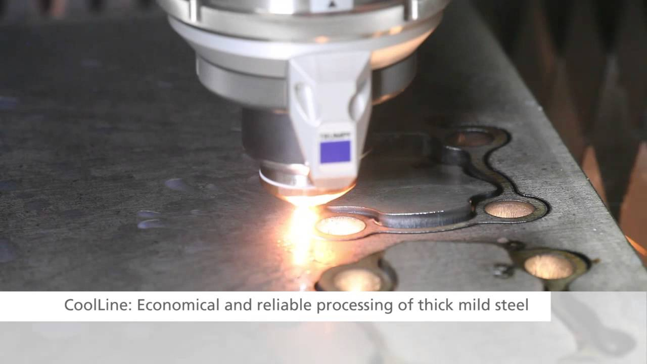 Trumpf Laser Cutting Trulaser 5030 Fiber 2014