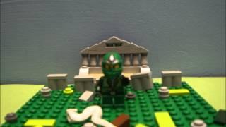 Lego Ninjago Stop Motion Short Legs Walking Test- Lloyd