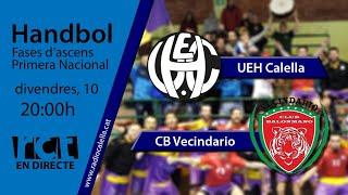 Gambar cover [Transmissió Esportiva] Handbol: UEH Calella – CB Vecindario