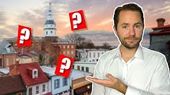 Best Places To Live In Annapolis, Maryland?