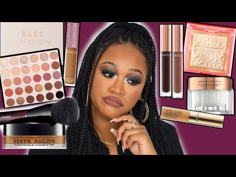 FULL FACE TESTING NEW MAKEUP! COLOURPOP, NABLA & MORE! DEC 2019