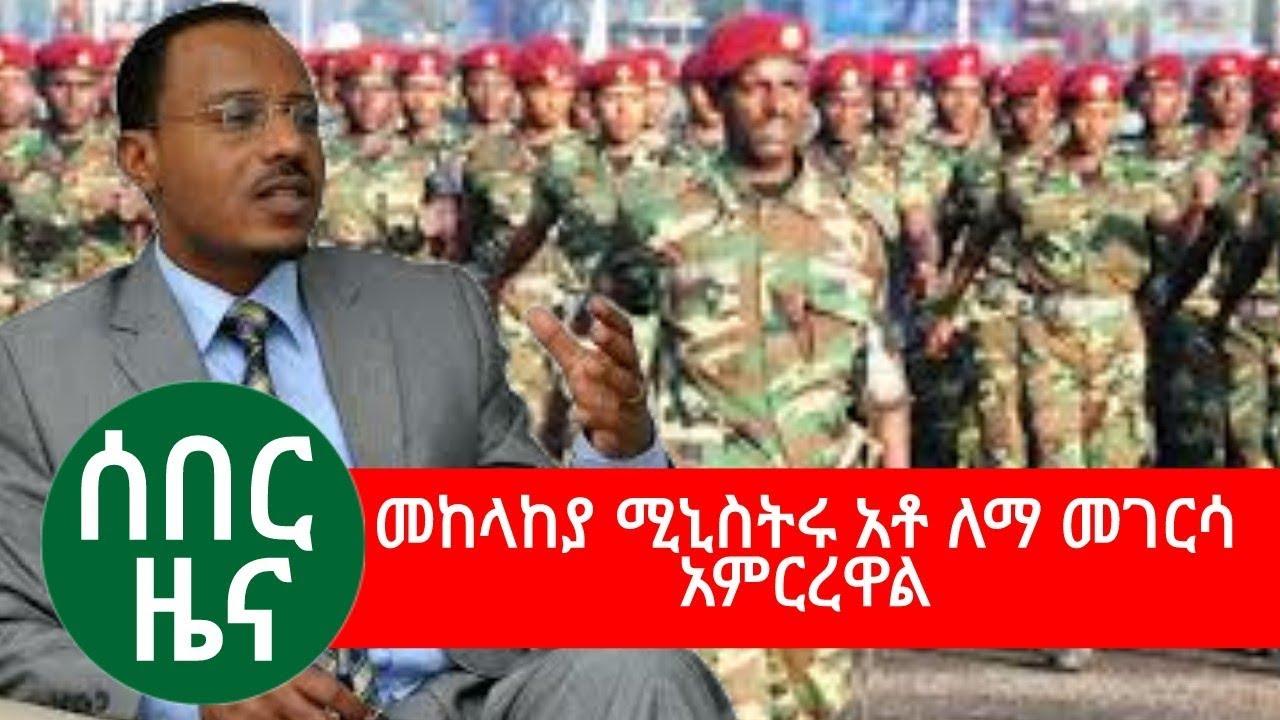 Lemma Megersa - Ministry Of Defense