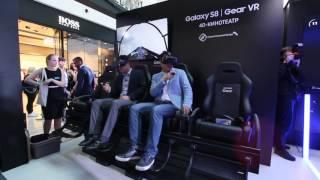 Samsung Galaxy Studio Галактическая битва в 4D