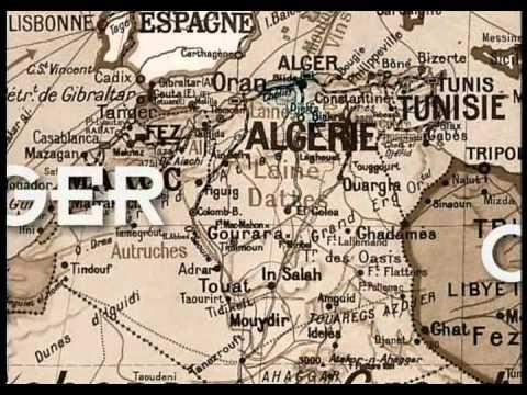 Colonisation de l'Afrique du nord, Maroc, Algérie, Tunisie