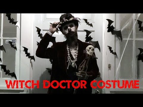 Witch Doctor Voodoo Priest Costume Tutorial