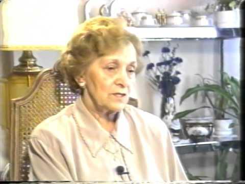 Dina Muller   Shoah Testimony Part 1