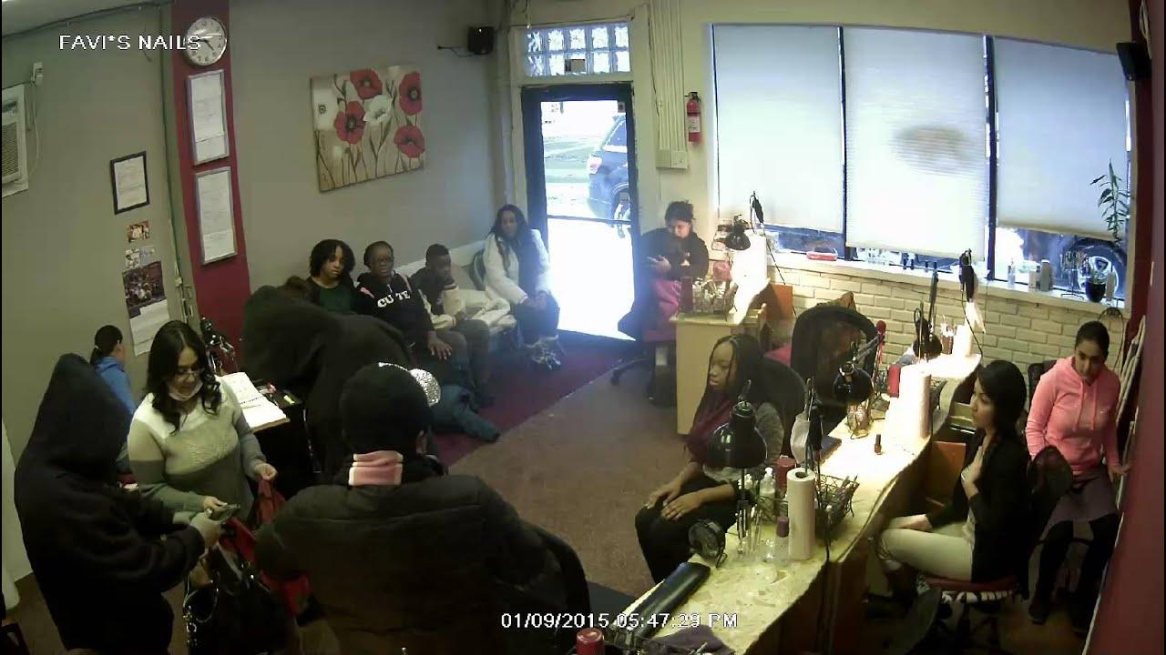 Detroit Favis nail salon robbery