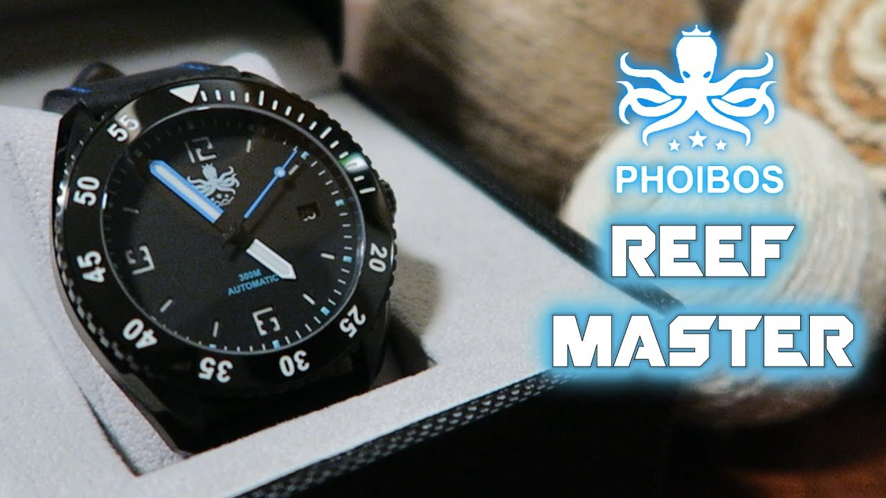 2868a9575ed Phoibos Reef Master PY015B Full Review - YouTube