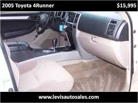 Levis Auto Sales >> 2005 Toyota 4runner Available From Levi S Auto Sales Youtube