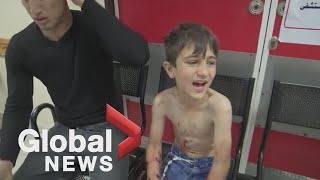 Israeli retaliatory air strike kills 20 people in Gaza as violence erupts in Jerusalem