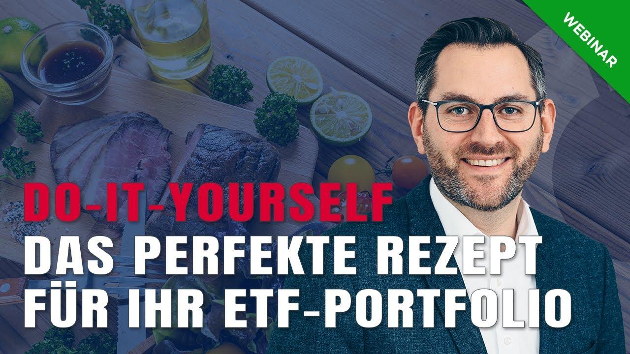 Do-it-Yourself mit ETFs – das perfekte Rezept für Ihr Portfolio
