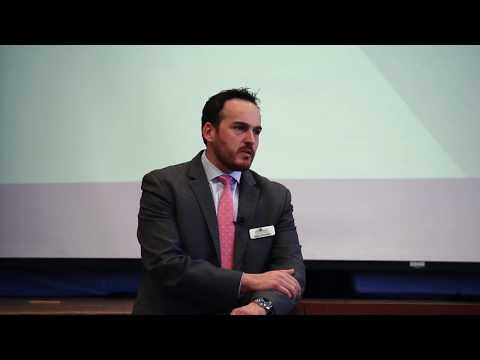 Mario Pecoraro Presenting at The New Jewish Home, Manhattan