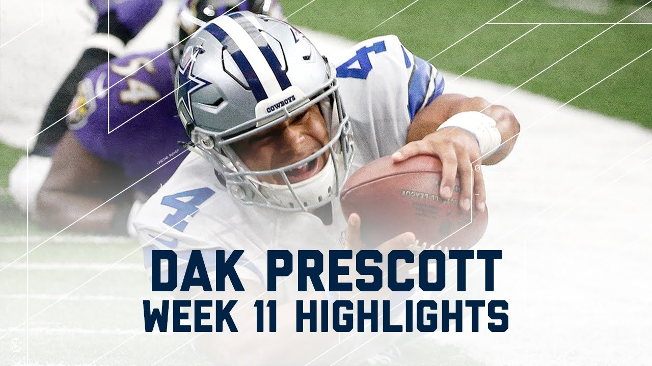 Dak Prescott Throws for 301 Yards and 3 TDs!  4d6c921ef