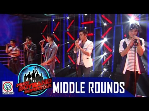 "Pinoy Boyband Superstar Middle Rounds: Joshua, Henz, Luigi, Joao and Mark - ""Sukob Na"""