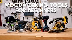 5 Must-Have Woodworking Tools For Beginners DIY | Woodworking Quick Tips
