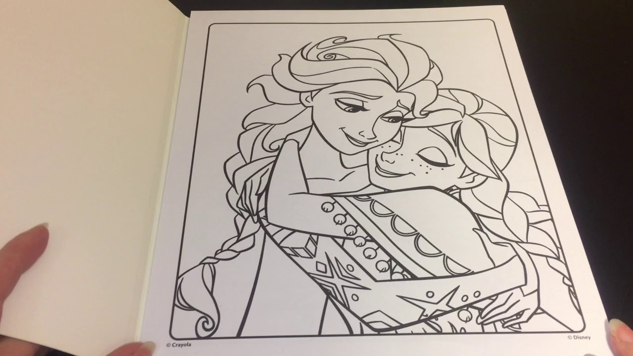 Coloring Pages For Frozen The Movie : Coloring time episode disney frozen anna elsa speed