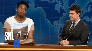 Weekend Update: Leslie Jones on Social Media - SNL