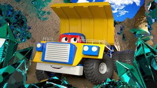 The Mining Truck - Carl the Super Truck in Car City 🚚 ⍟ l Children Cartoons
