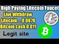 Free Litecoin Faucet-Live withdraw,#Trick Crypto