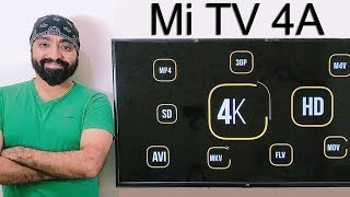 Mi TV 43 inch SD, HD & 4K video quality and video file format support test