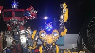 Transformers Bumblebee Movie ThreeZero Bumblebee DLX Action Figure Unboxing & Review