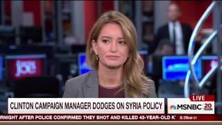 MSNBC's Joe Scarborough Bashes Clinton Campaign Manager Following His Horrific Interview