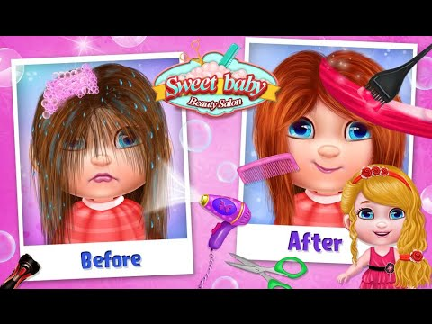 """Sweet Baby Beauty Salon """"Casual Kids Games"""" Android Gameplay Video"""