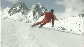видео Анализ техники горнолыжного спорта - Обучение технике горнолыжного спорта