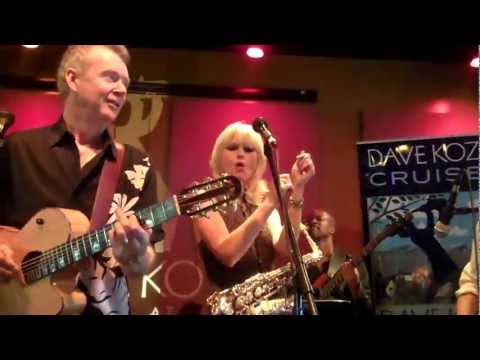 Peter White Mindi Abair Dave Koz - Bueno Funk at the Spaghettini Dave Koz 2013 Cruise Party