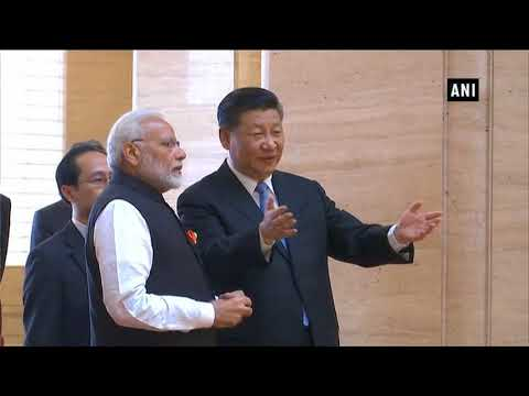 Watch: Chinese President Xi Jinping welcomes PM Modi at Hubei Provincial Museum