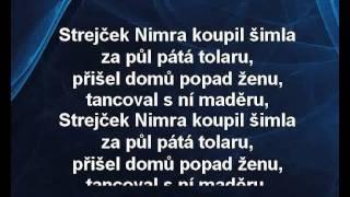 Dětské písničky - Strejček Nimra (karaoke KLIP)