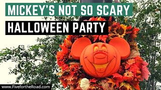 Mickey's Not So Scary Halloween Party 2019 | Halloween at Disney World | Boo to You Parade