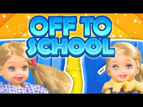 Barbie - The Twins Are Off To School | Ep.65