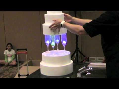 Wedding Cake Stacking System
