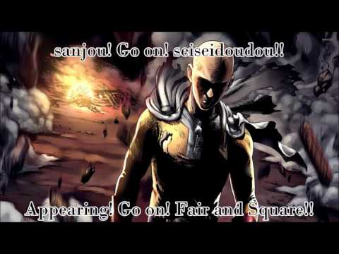 "One Punch Man - ""The Hero"" Romaji + English Lyrics #23"
