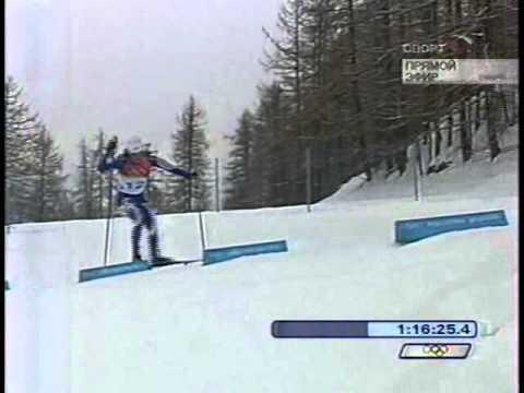 2006 OWG Torino 30 km F Mst NEUMANNOVA TCHEPALOVA KOWALCZYK