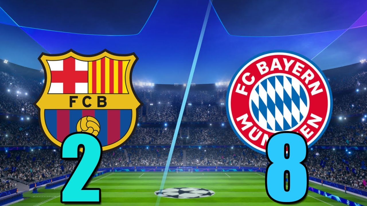 Download BARCELONA VS BAYERN MUNİCH LIVE  FULL MATCH (UCL 2020)