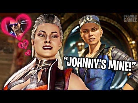 Mortal Kombat 11 - ALL Sindel Flirty Intros & Teases!!
