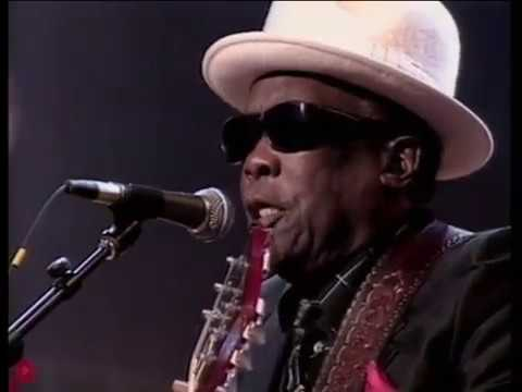 """John Lee Hooker Eric Clapton and The Rolling Stones: """"Boogie Chillen&39;""""  1989"""