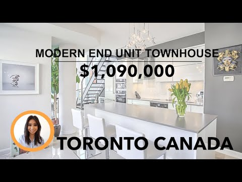 Modern End Unit Townhouse For Sale | Highest Reviewed Real Estate Agent In Toronto