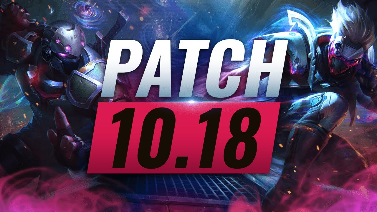 Best Champions TIER List – League of Legends Patch 10.18 thumbnail