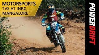 Motorsports : TVS At INRC Mangalore : PowerDrift